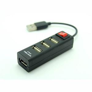 Slika od USB Hub 2.0 4-port Asonic, switch