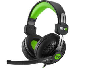 Slika od Sharkoon Rush ER2 stereo slušalice sa mikrofonom, crno-zelene