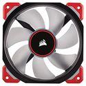 Slika od Corsair ML120 Pro LED, Red, 120mm Premium Magnetic Levitation Fan