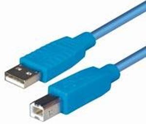 Slika od USB  TIP A-B M/M 1.8 m (USB 2.0), Transmedia