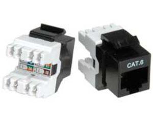 Slika od PATCH MODULE Keystone Cat.6/7 Class E (RJ-45) black - patch module for 26.11.0357